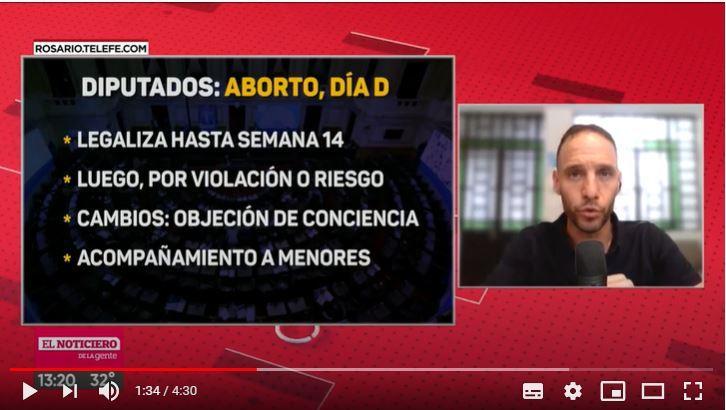Aborto: día clave en Diputados para legalizarlo hasta la semana 14 de embarazo