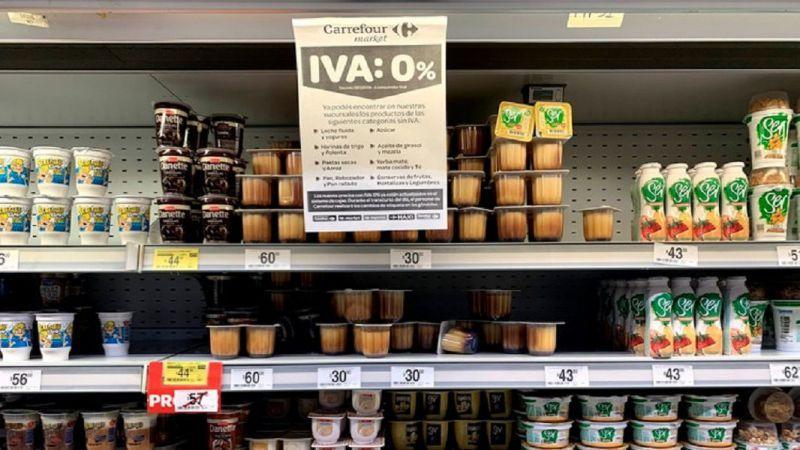"""Advierten que la eliminación del IVA tiene efecto """"casi nulo"""" en Rosario"""