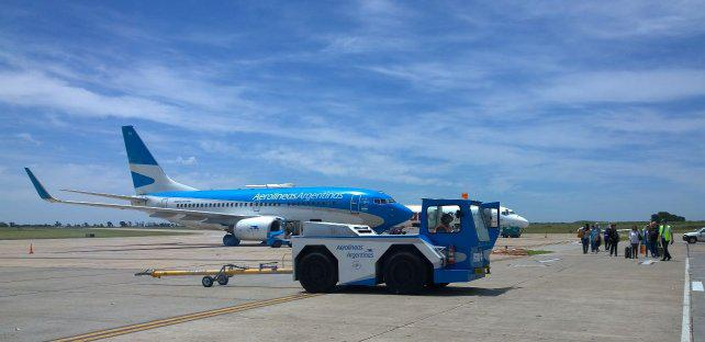 Aerolíneas negó un plan de ajuste para los vuelos desde Rosario