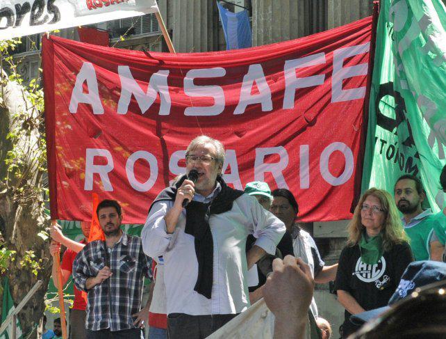 Amsafé reclama reabrir la paritaria pese a la clausula gatillo