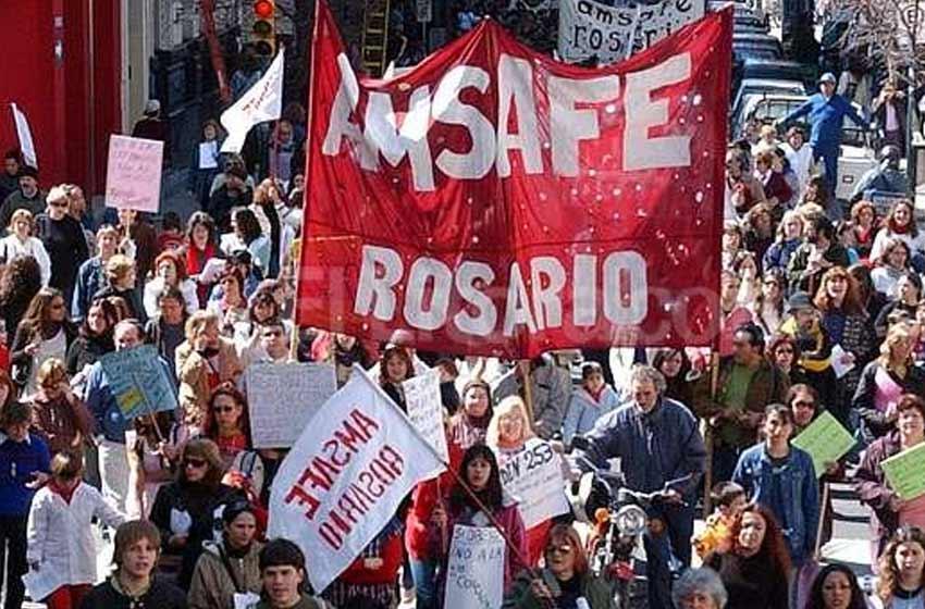 """Amsafé Rosario cuestiona por """"ilegal e ilegítimo"""" el pago de haberes extendido de febrero"""