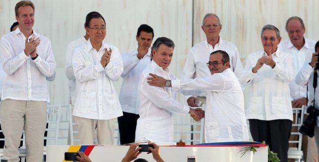 """""""El acuerdo de paz entre el gobierno de Colombia y las Farc será un hito del siglo XXI"""""""