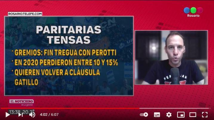 Arrancan las paritarias en Santa Fe: entre los reclamos gremiales y los límites de Perotti