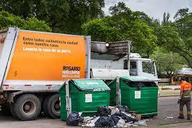 Aseguran que bajaron 70% las quejas de los rosarinos por la recolección de basura