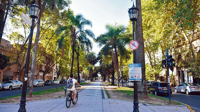 Avanza en el Concejo la ciclovía sin estacionamiento en Oroño