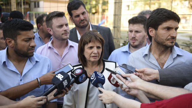 """Bullrich: """"En Rosario hay una lucha contra el crimen organizado"""""""