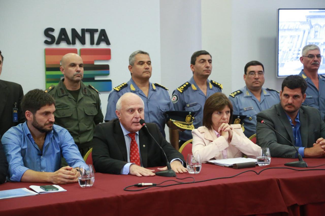Bullrich pidió a los jueces más firmeza contra el narcotráfico en Rosario