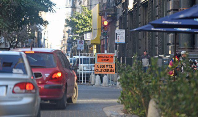 Comerciantes exigen al municipio que terminen en octubre las obras del centro