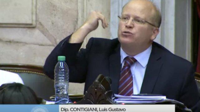 """Contigiani: """"La reforma jubilatoria no pacifica, divide aún más a la Argentina"""""""