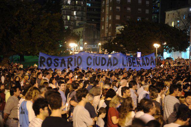 Convocan a otra concentración contra la inseguridad en Rosario