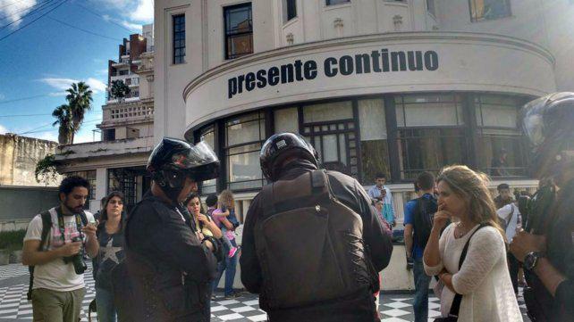 """Cuestionan el """"exceso policial"""" en un operativo en el Museo de la Memoria"""