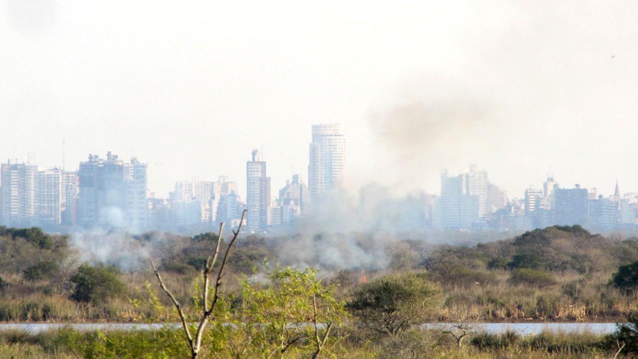Cumbre entre Nación, Santa Fe y Entre Ríos por la quema en las islas