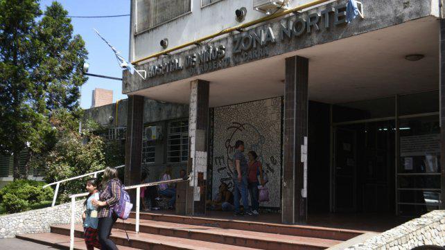 Denuncian alta demanda y falta de recursos en el Hospital de Niños Zona Norte