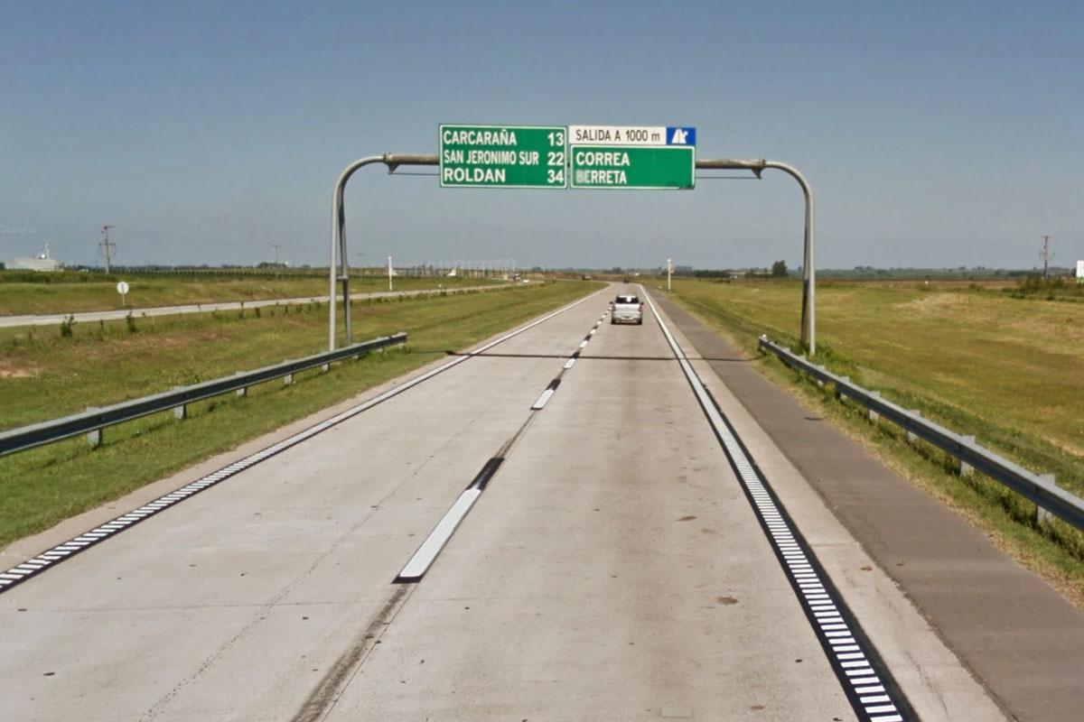 """Denuncian el estado """"intransitable"""" de tramos de la autopista a Córdoba"""