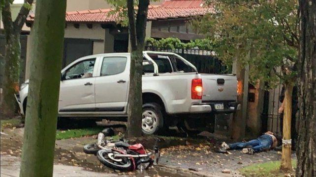 """""""Diego es una víctima más de la delincuencia"""", dijo la tía del joven que mató a dos ladrones"""