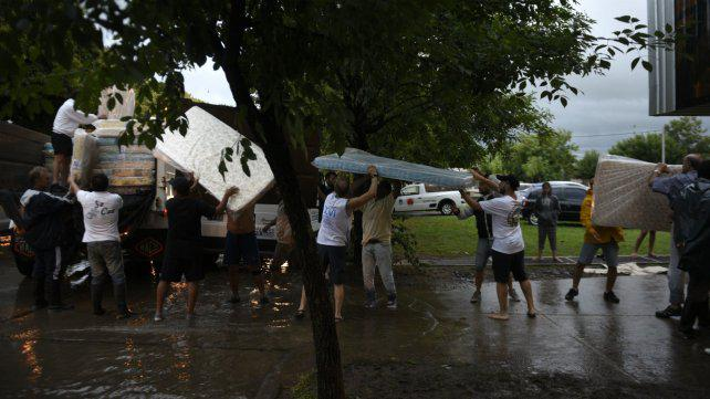 El drama de Arroyo Seco, con el 70 por ciento de la ciudad inundada