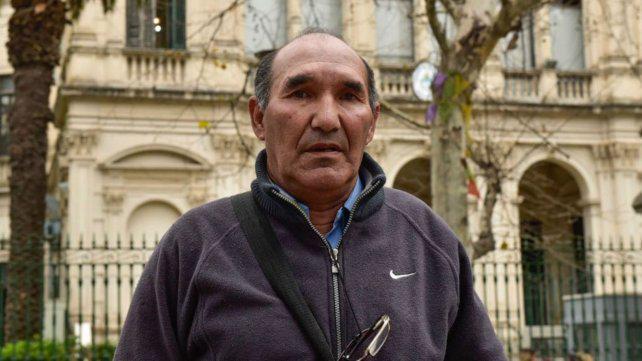 """El padre de Casco no duda: """"A mi hijo lo mató la policía y después lo tiraron al río"""""""