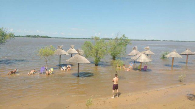 El Paraná sube en Rosario y se acerca a niveles de alerta