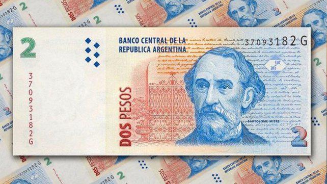 Empresarios rosarinos piden prorrogar el canje de billetes de dos pesos