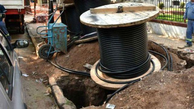 En cuatro meses la EPE ya sufrió 200 robos de cable de cobre en Rosario