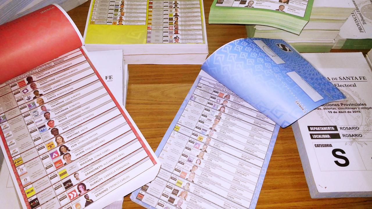 En Santa Fe se presentaron 1.317 listas para las elecciones a concejal