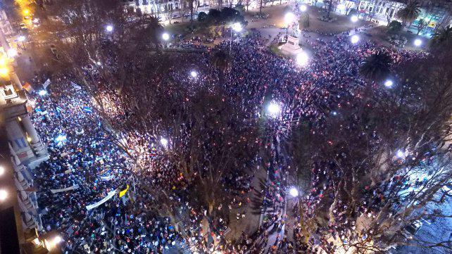 """""""Esta marcha tiene que marcar un antes y un después para Rosario""""."""