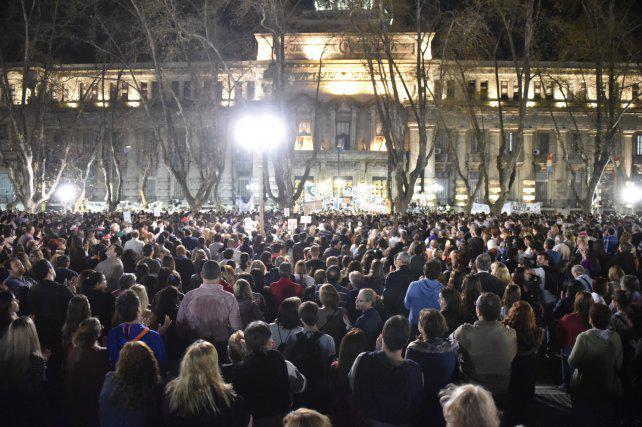 """""""Estamos impactados, fue una marcha multitudinaria que nos conmovió"""""""