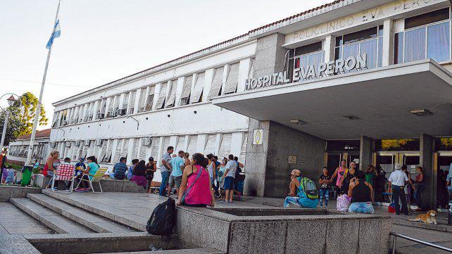 Falló el aire del Eva Perón y el hospital vivió un día de infierno