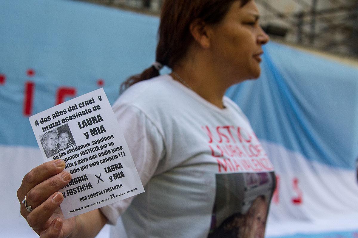 Familiares de víctimas emocionados con la masiva convocatoria a la marcha