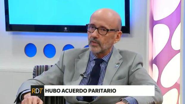 Floriani confirmó el acuerdo salarial entre los gremios docentes y el gobierno