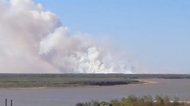 Incendios fuera de control: en días se quemó casi el doble de la superficie de Rosario