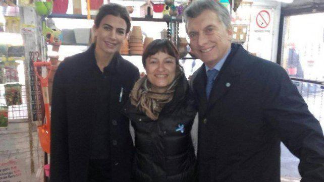 La emoción de la empleada rosarina del vivero donde Macri fue a comprar plantas