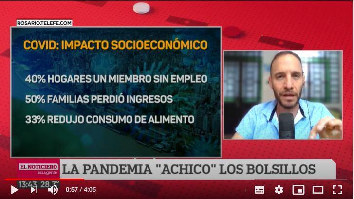 La pandemia impactó en el bolsillo, trabajo y cotidianeidad de los argentinos