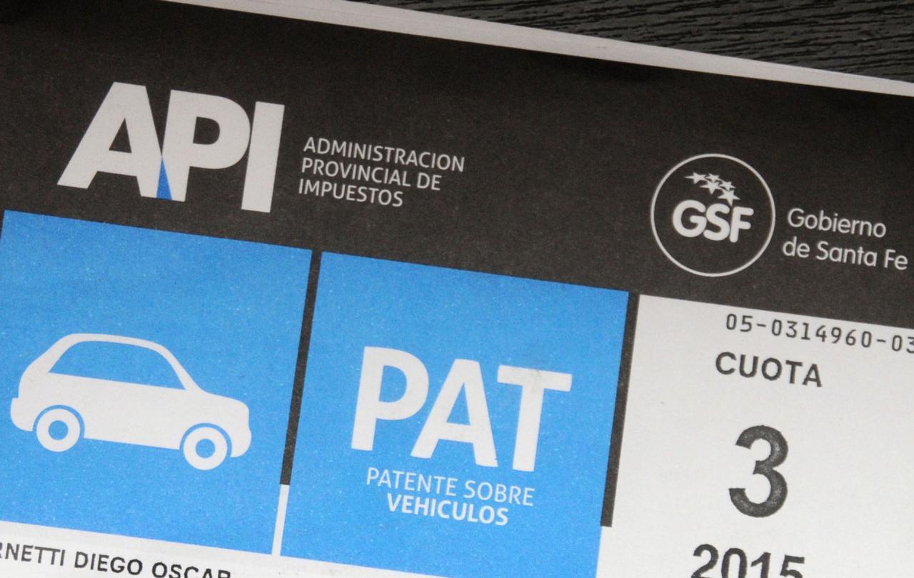 La patente sube 40 por ciento en 2019 y algunos autos pagarán el doble