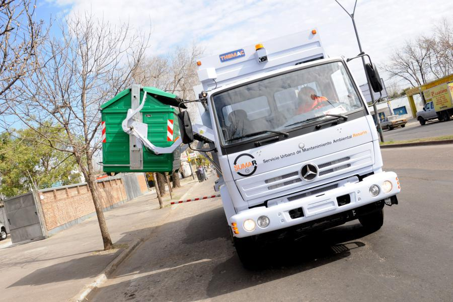 """Llegaron cuatro camiones más y aseguran que el servicio de recolección está """"normalizado"""""""