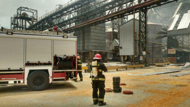 Los aceiteros acusaron a la empresa por la explosión en la cerealera