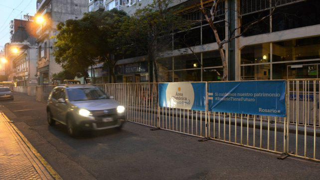 Los comerciantes del centro apoyan las obras del casco histórico pese al caos vehicular