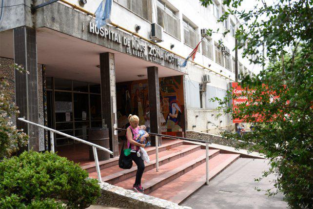 """Médicos del Hospital de Niños Zona Norte advierten que la situación es """"insostenible"""""""