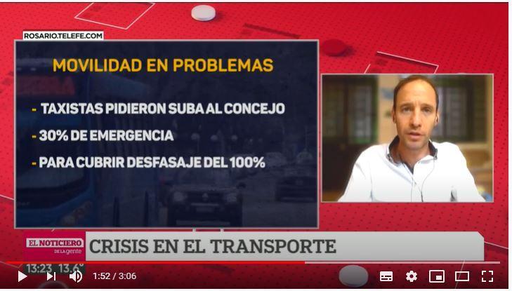 Movilidad en problemas: taxis y colectivos en medio de una crisis estructural