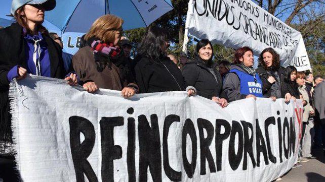 Municipales en pie de guerra por el conflicto en Fray Luis Beltrán