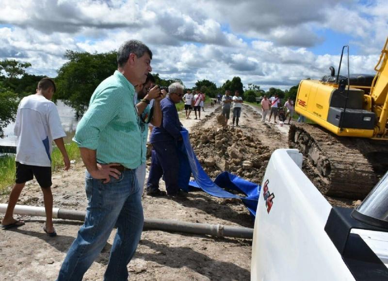 """Nación admite que la situación en el sur santafesino es """"desesperante"""" por las lluvias"""
