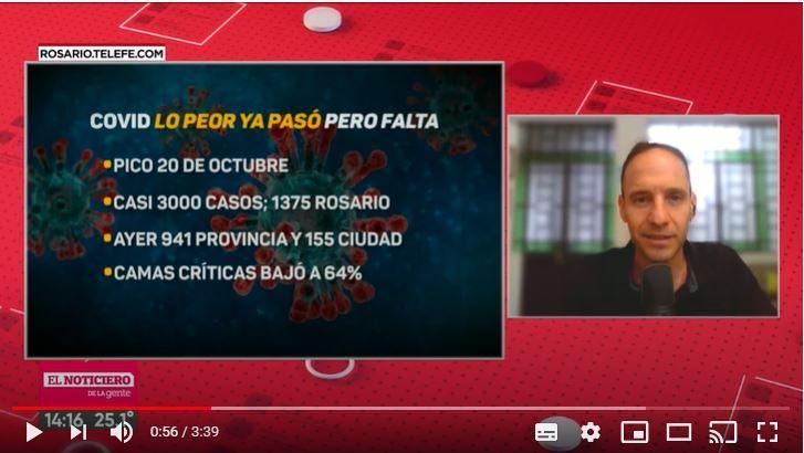 Pandemia en Rosario: lo peor ya pasó pero instan a no relajar cuidados
