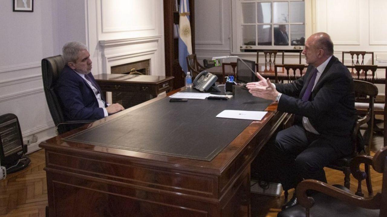 """Perotti confirmó que para Aníbal Fernández """"Rosario y el conurbano son la prioridad"""""""