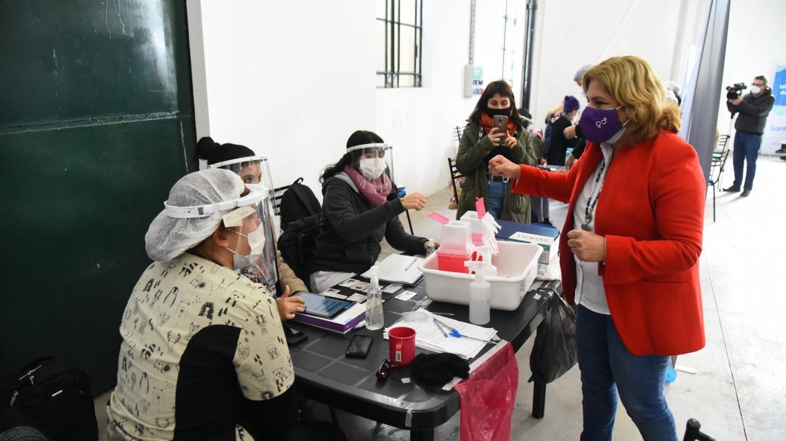 Santa Fe llega esta semana al millón de vacunados con esquema completo