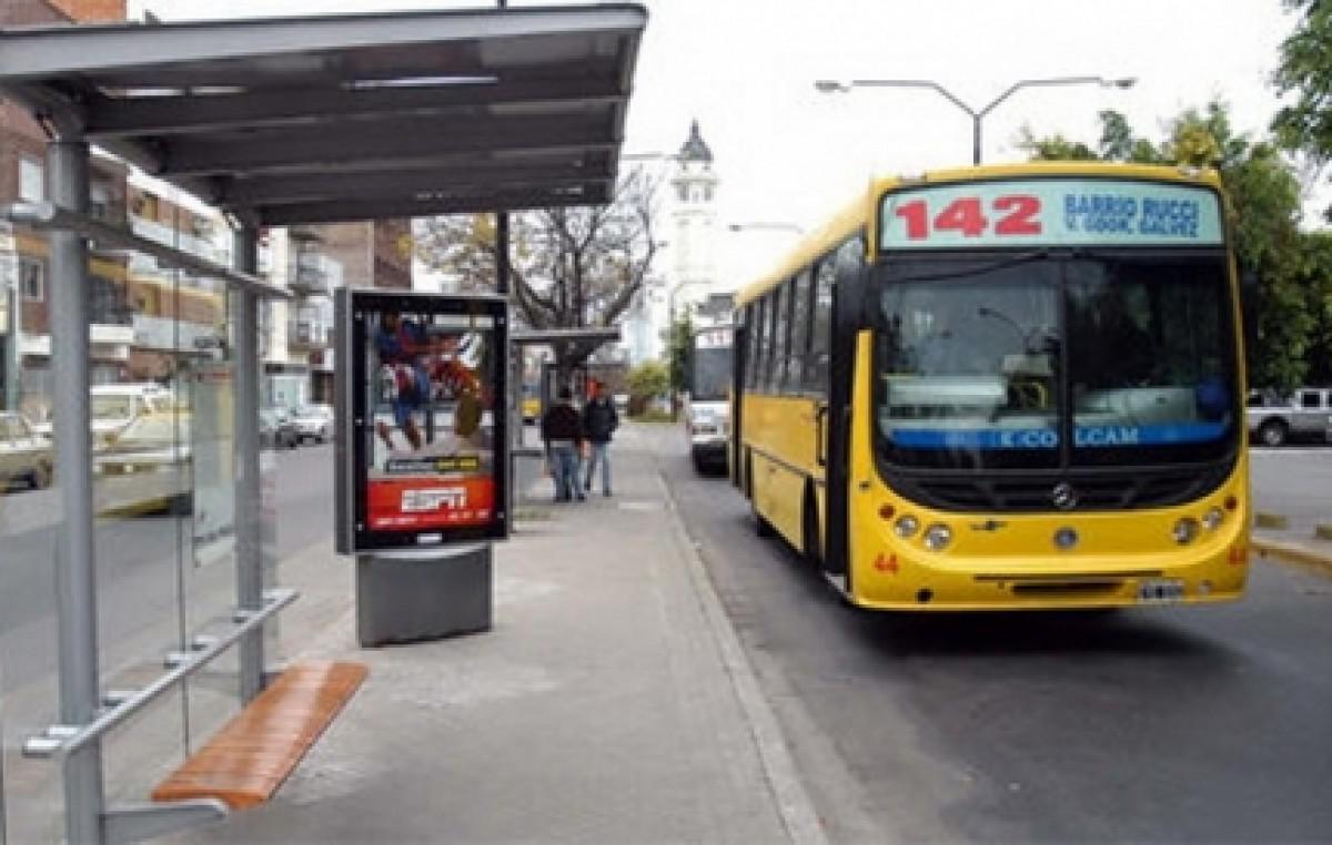 """Según la Municipalidad, los usuarios del transporte le ponen """"8"""" al sistema urbano"""