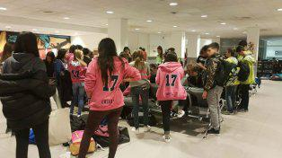 Tensión por cuatro cursos que quedaron sin volar a Bariloche de viaje de egresados