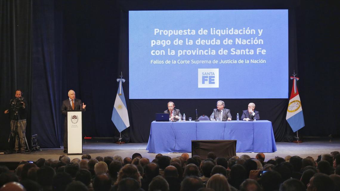 Un fallo de la Corte le da impulso a Santa Fe para cobrar la deuda de Nación