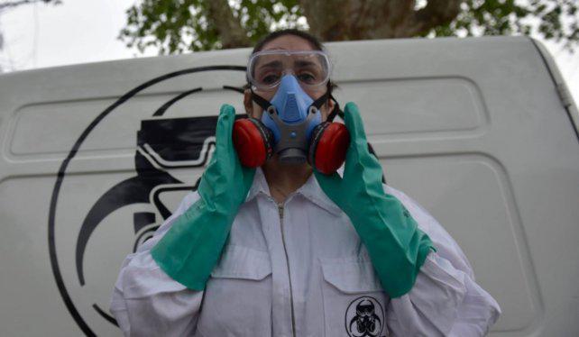 Una empresa rosarina se dedica a limpiar escenas de crimen
