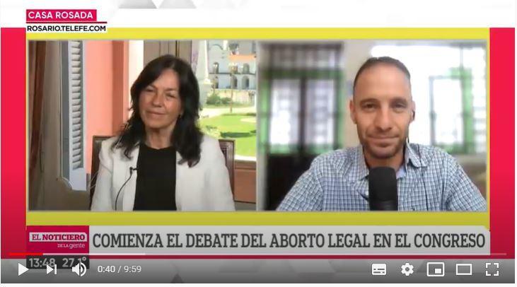 """Vilma Ibarra: """"Vamos por el aborto legal porque penalizarlo no resolvió el problema"""""""